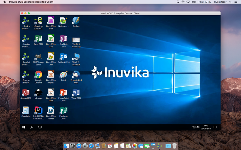 Inuvika Enteprise Client macOS