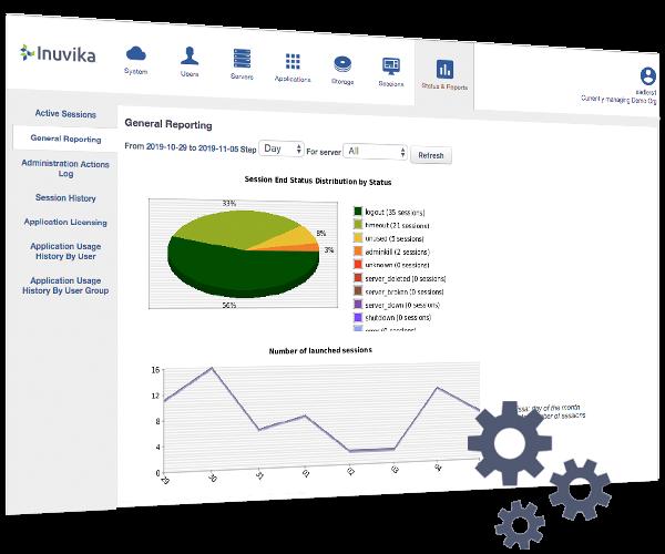 OVD Enterprise Web Admin Console